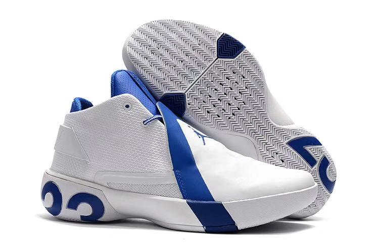 JORDAN Кроссовки баскетбольные  AB0045: белый - 1