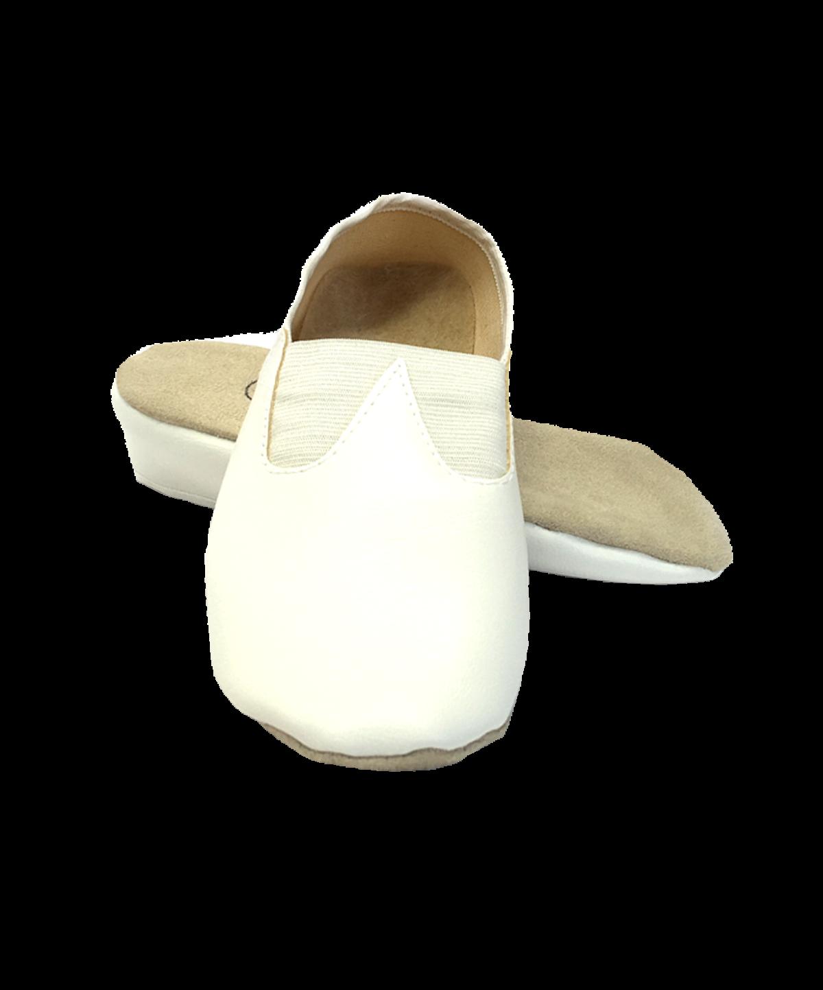 Чешки классические кожзам  2627: белый - 1
