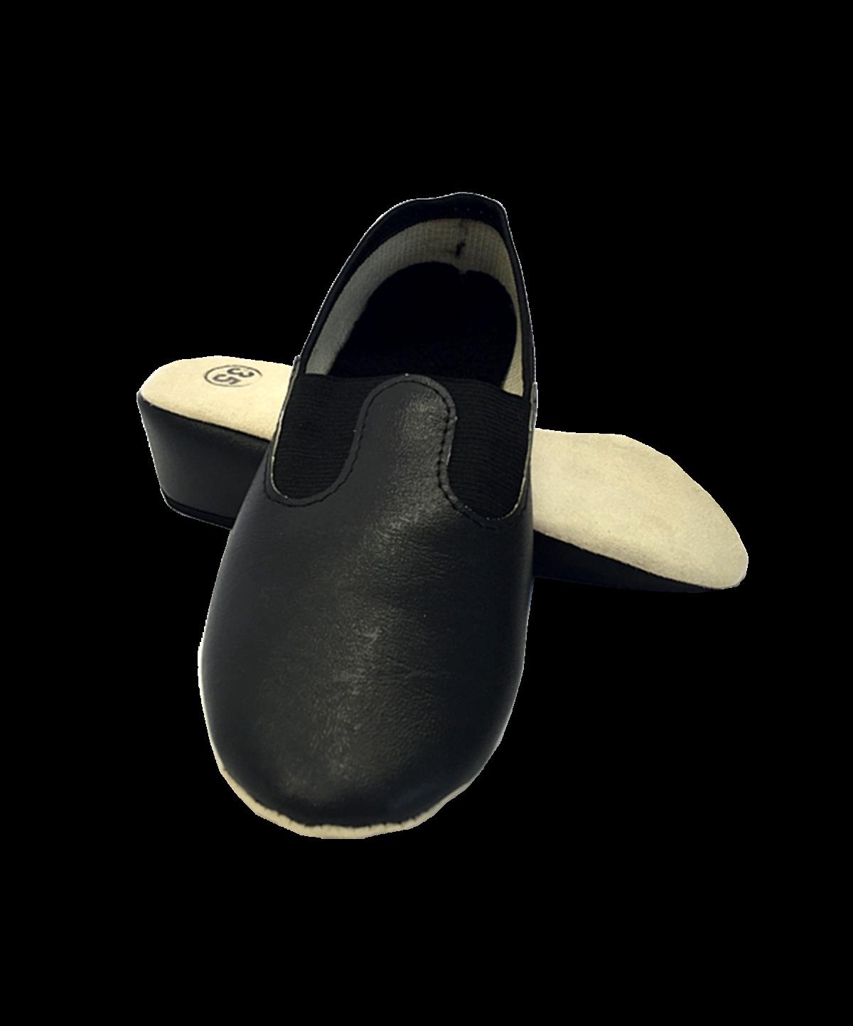 Чешки классические кожзам  2627: чёрный - 1