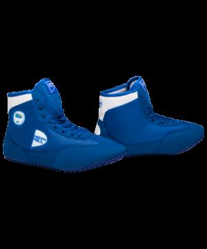 GREEN HILL Обувь для борьбы  GWB-3052/GWB-3055: синий/белый - 5