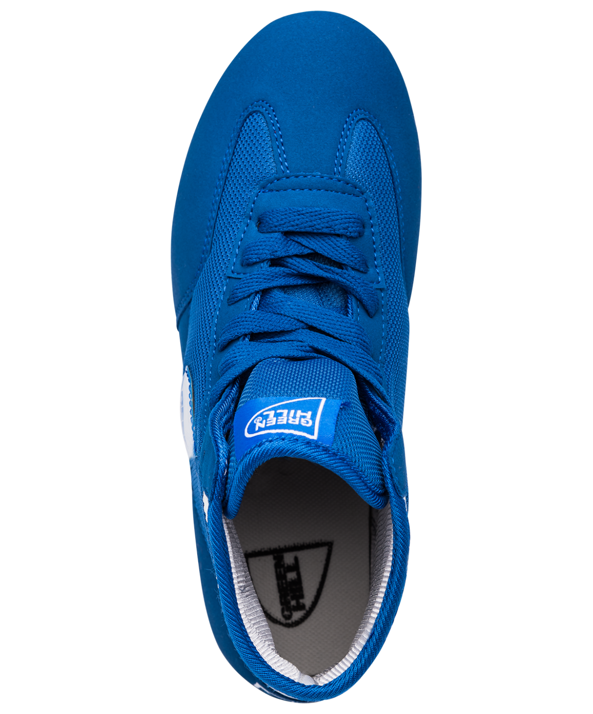 GREEN HILL Обувь для борьбы  GWB-3052/GWB-3055: синий/белый - 2