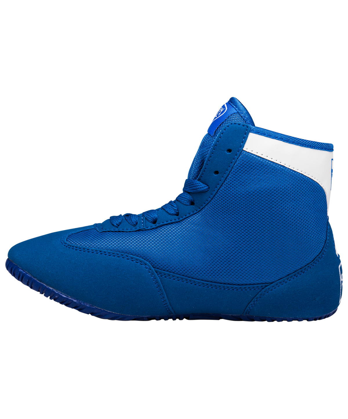 GREEN HILL Обувь для борьбы  GWB-3052/GWB-3055: синий/белый - 4