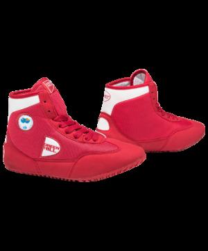 GREEN HILL Обувь для борьбы  GWB-3052/GWB-3055: красный/белый - 12