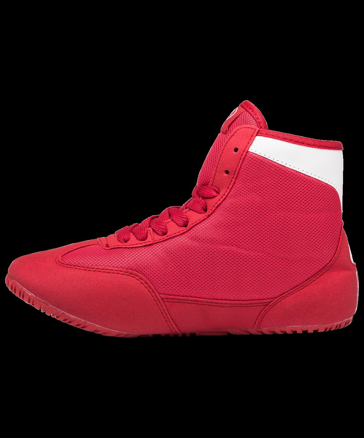GREEN HILL Обувь для борьбы  GWB-3052/GWB-3055: красный/белый - 2
