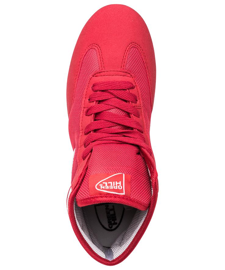 GREEN HILL Обувь для борьбы  GWB-3052/GWB-3055: красный/белый - 4