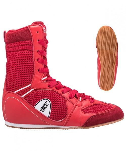 GREEN HILL Боксерки высокие  PS005: красный - 2