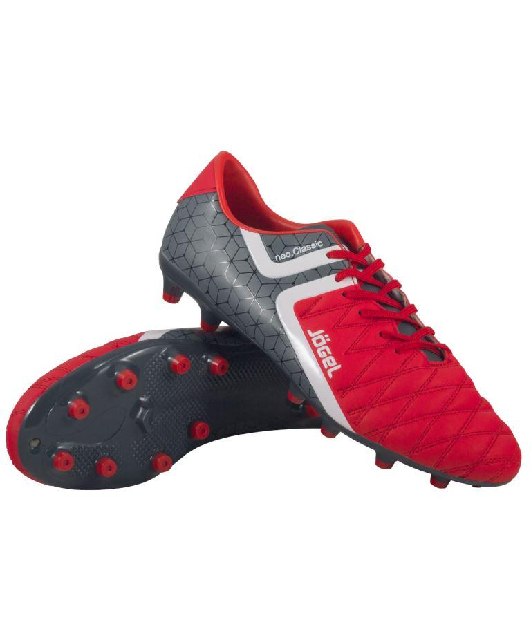 JOGEL Бутсы футбольные Mondo  JSH1002: красный - 1