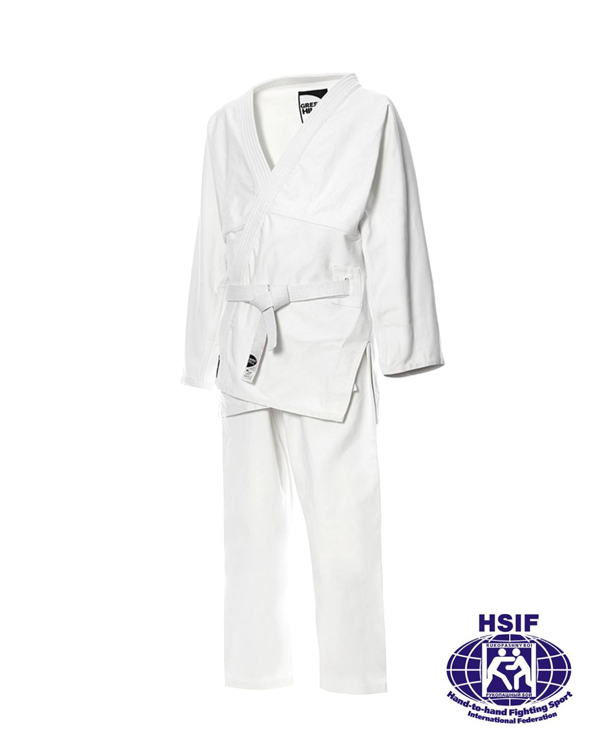 GREEN HILL Кимоно для рукопашного боя р.2/150 Junior  SHH-2210 - 1