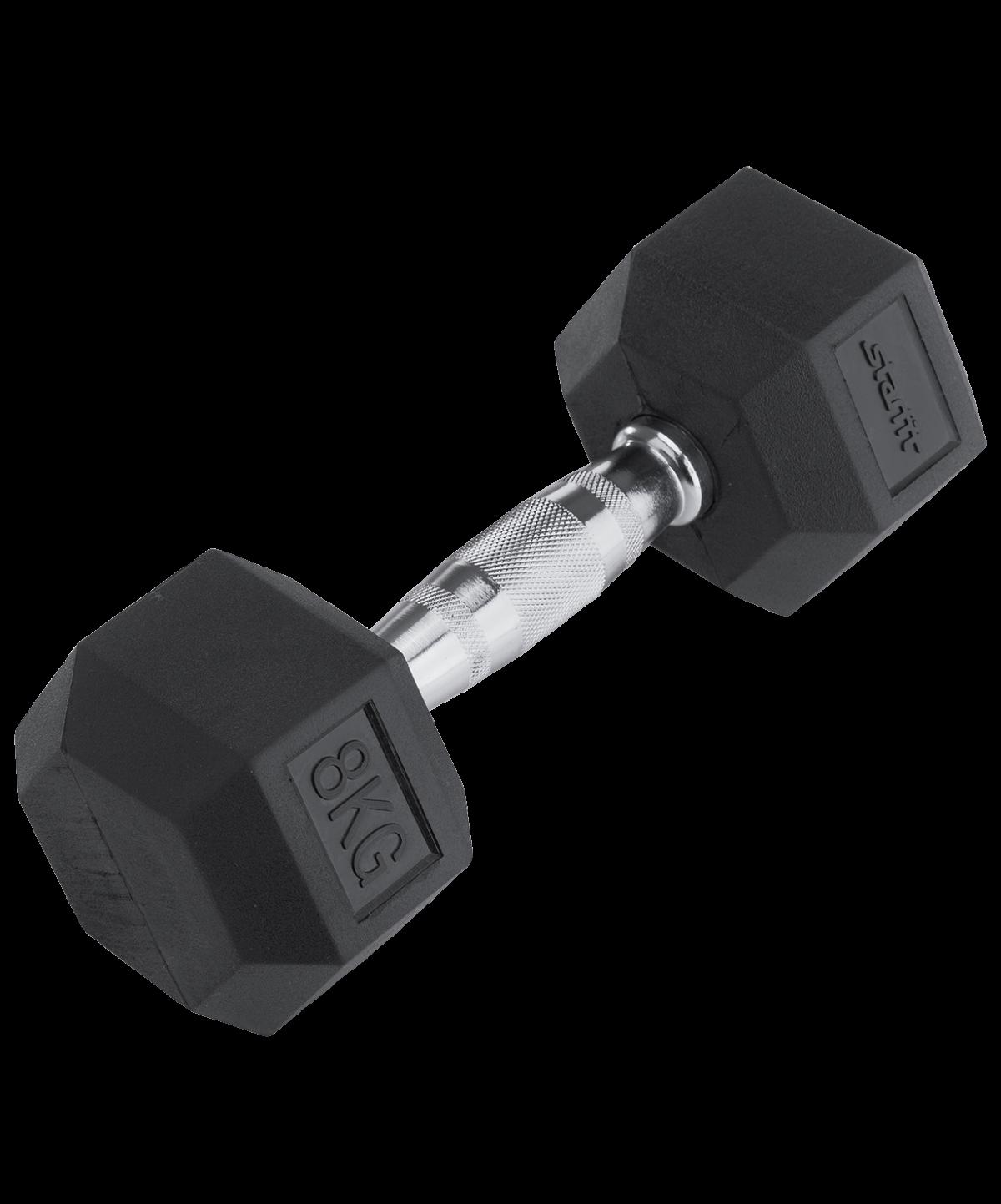 STARFIT Гантель обрезиненная 8 кг DB-301 - 1