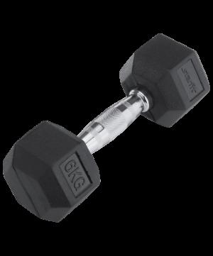 STARFIT Гантель обрезиненная 6 кг DB-301 - 16