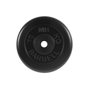 BARBELL Диск обрезиненный 10 кг,26мм. MB-PltB-10 - 15