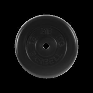 BARBELL Диск обрезиненный 15 кг,26мм. MB-PltB-15 - 20