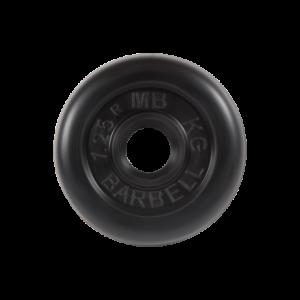BARBELL Диск обрезиненный 1,25 кг, 31мм. MB-PltB-1,25 - 12