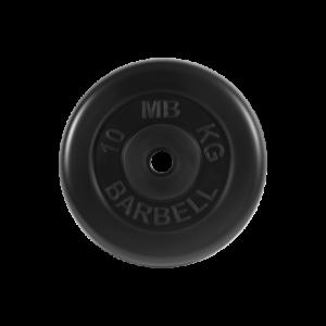 BARBELL Диск обрезиненный 10 кг, 31мм. MB-PltB-10 - 5