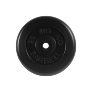 BARBELL Диск обрезиненный 25 кг, 31мм. MB-PltB-25 - 16