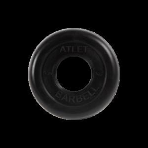 BARBELL Диск обрезиненный 1,25 кг, 51мм. Atlet MB-AtletB-1,25 - 11