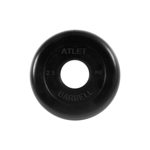 BARBELL Диск обрезиненный 2,5 кг, 51 мм. Atlet MB-AtletB-2,5 - 2