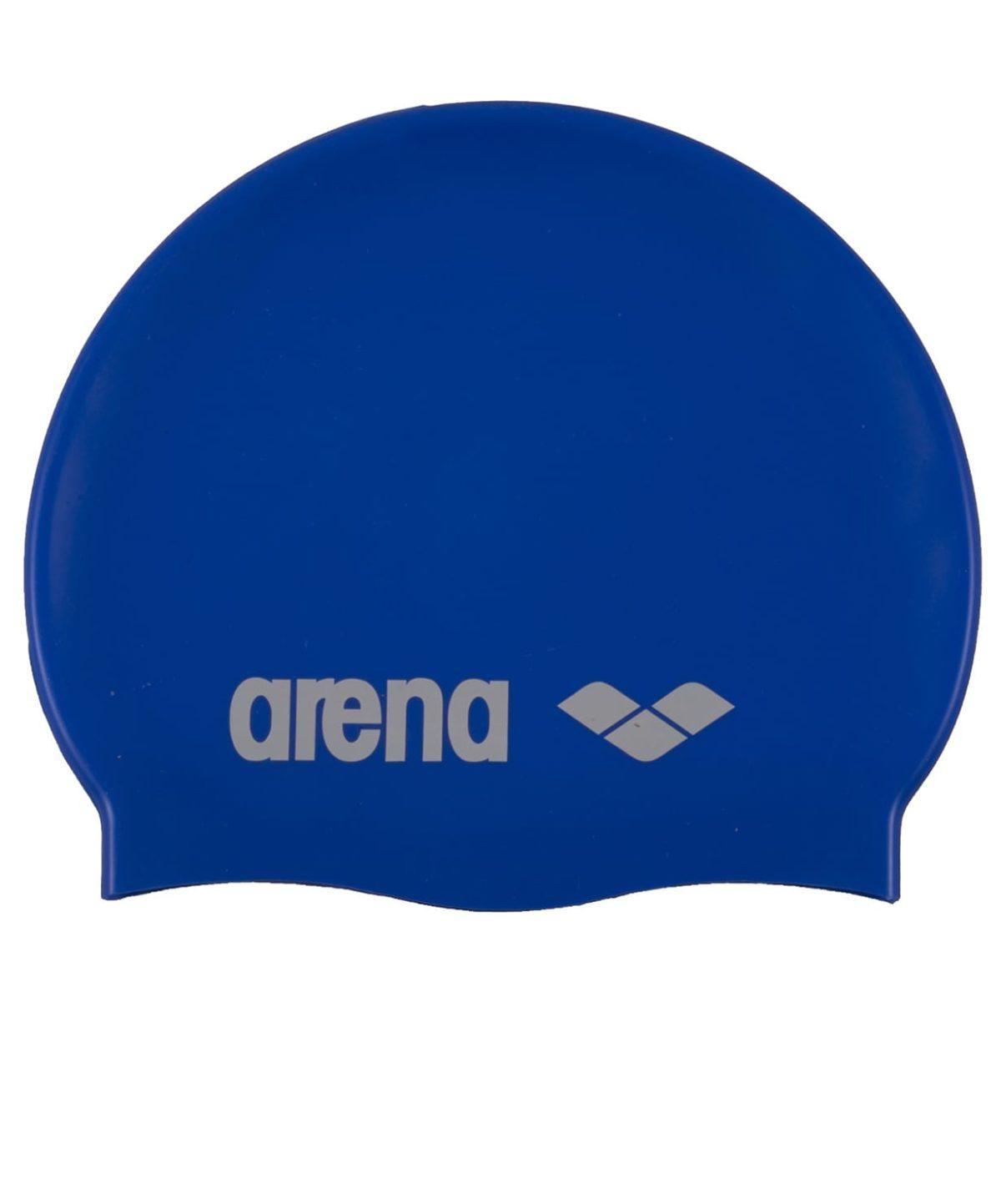ARENA Classic Silicone Cap sky blue/white Шапочка для плавания  91662 77 - 1