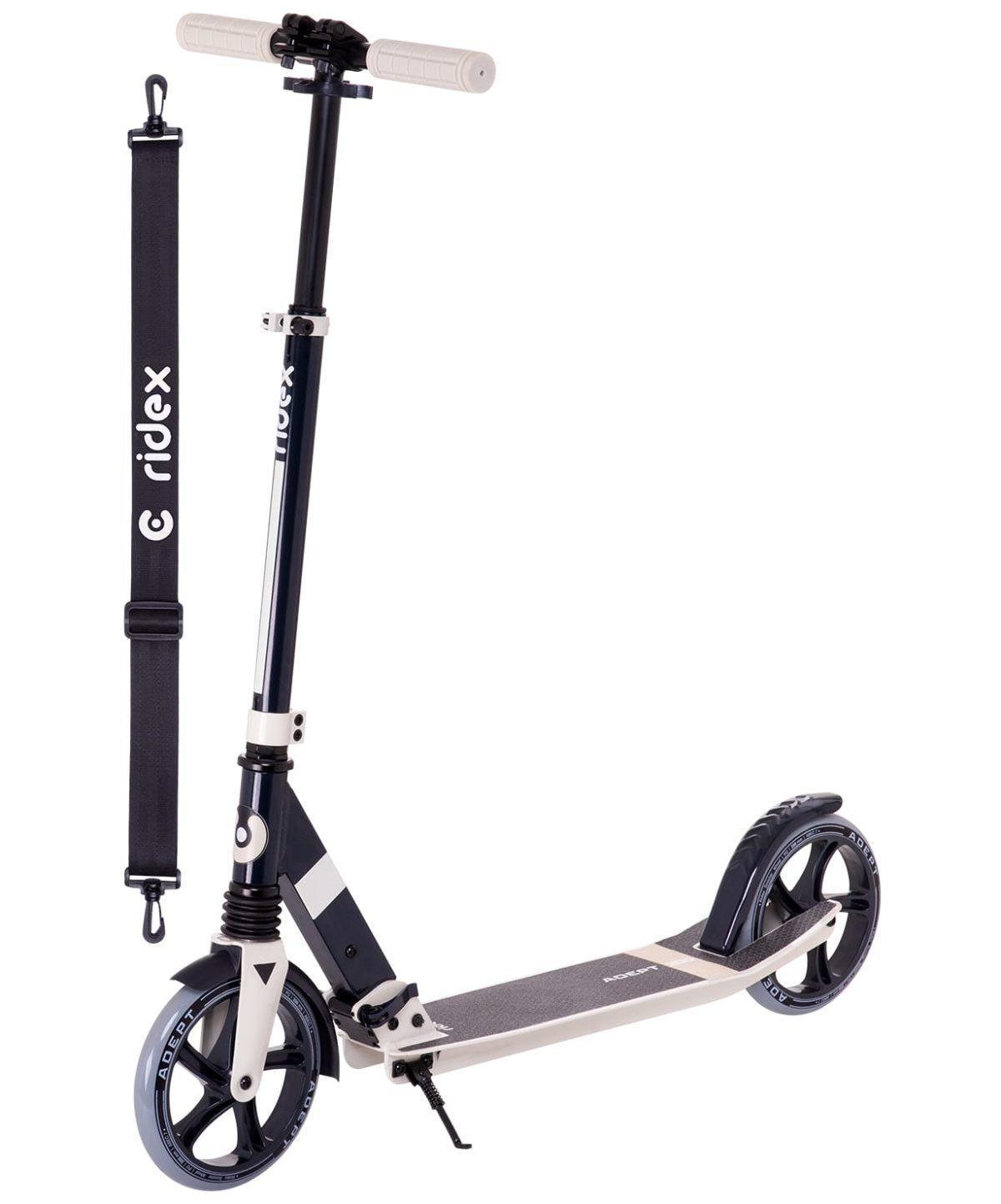 RIDEX Adept Cамокат 2-х колесный 200 мм  Adept: бежевый - 1