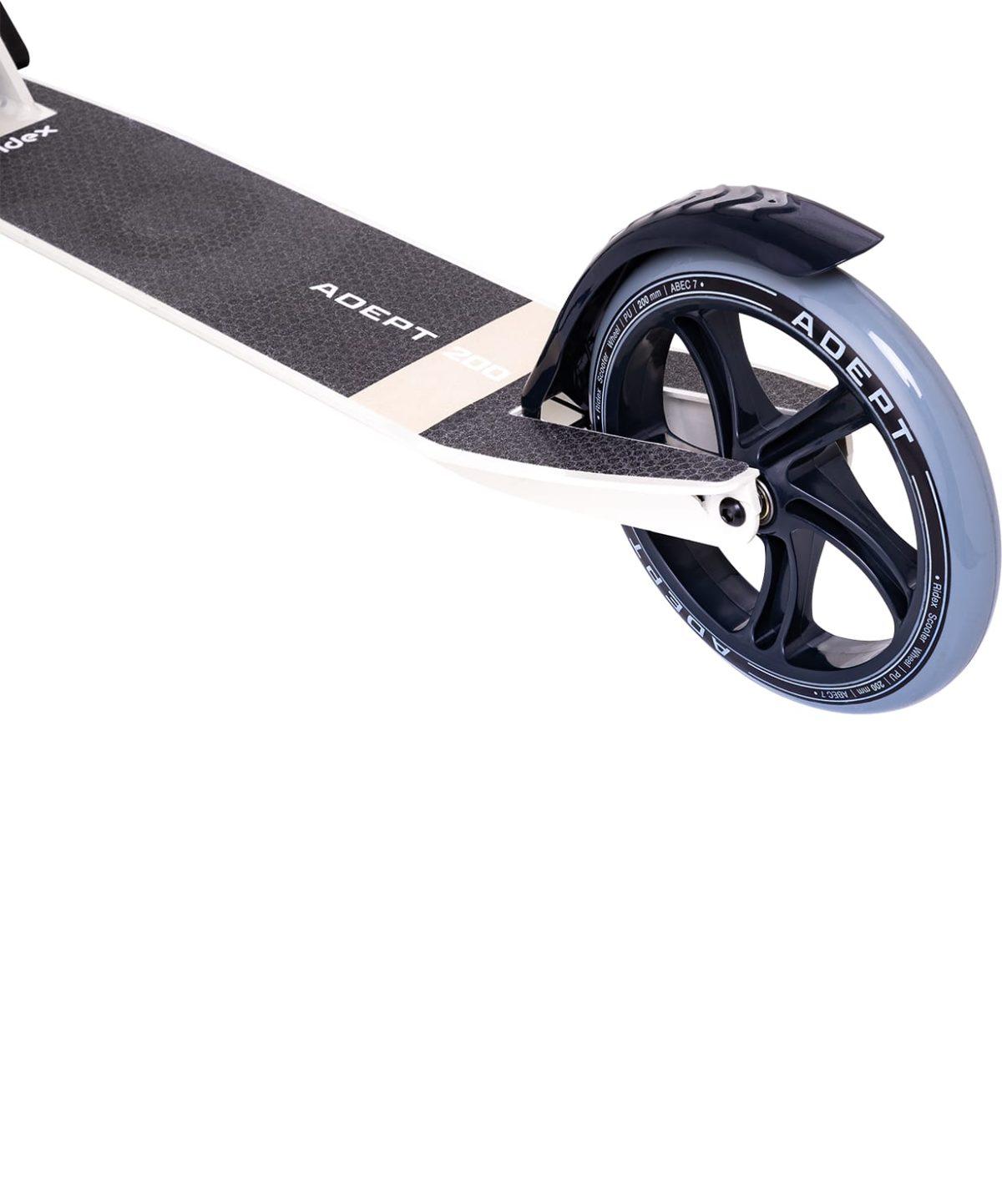 RIDEX Adept Cамокат 2-х колесный 200 мм  Adept: бежевый - 4