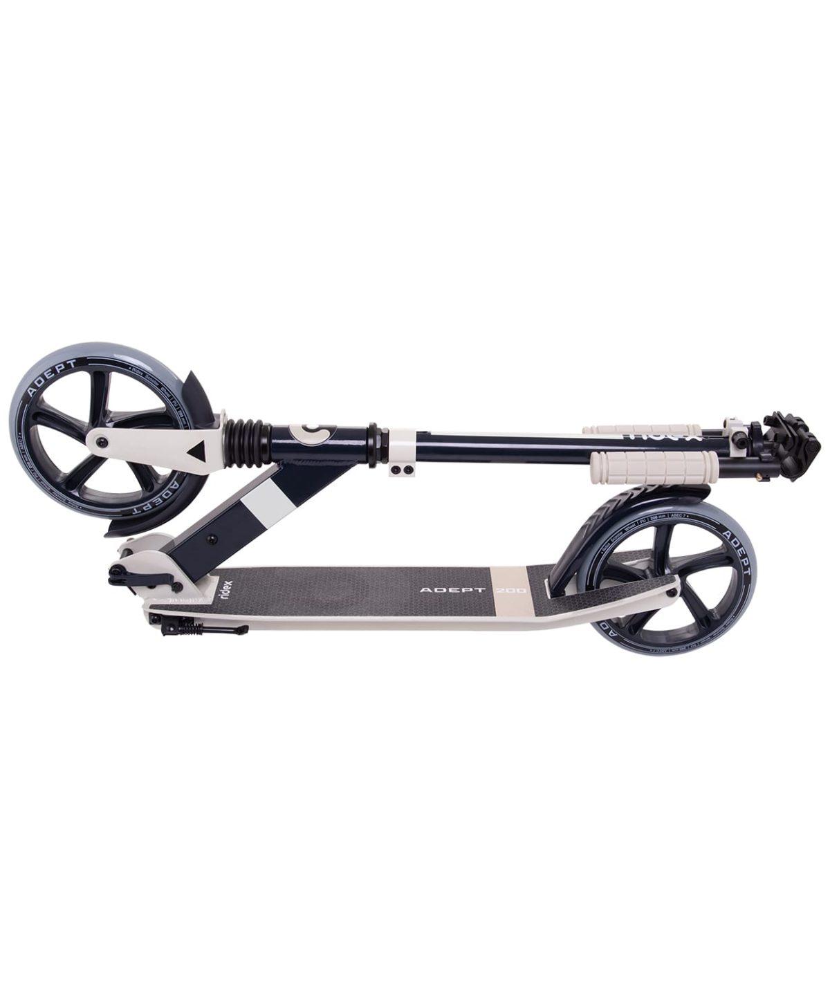 RIDEX Adept Cамокат 2-х колесный 200 мм  Adept: бежевый - 5