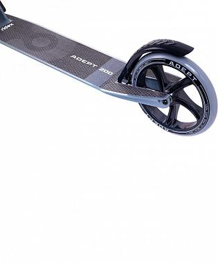 RIDEX Adept Cамокат 2-х колесный 200 мм  Adept: серый - 5