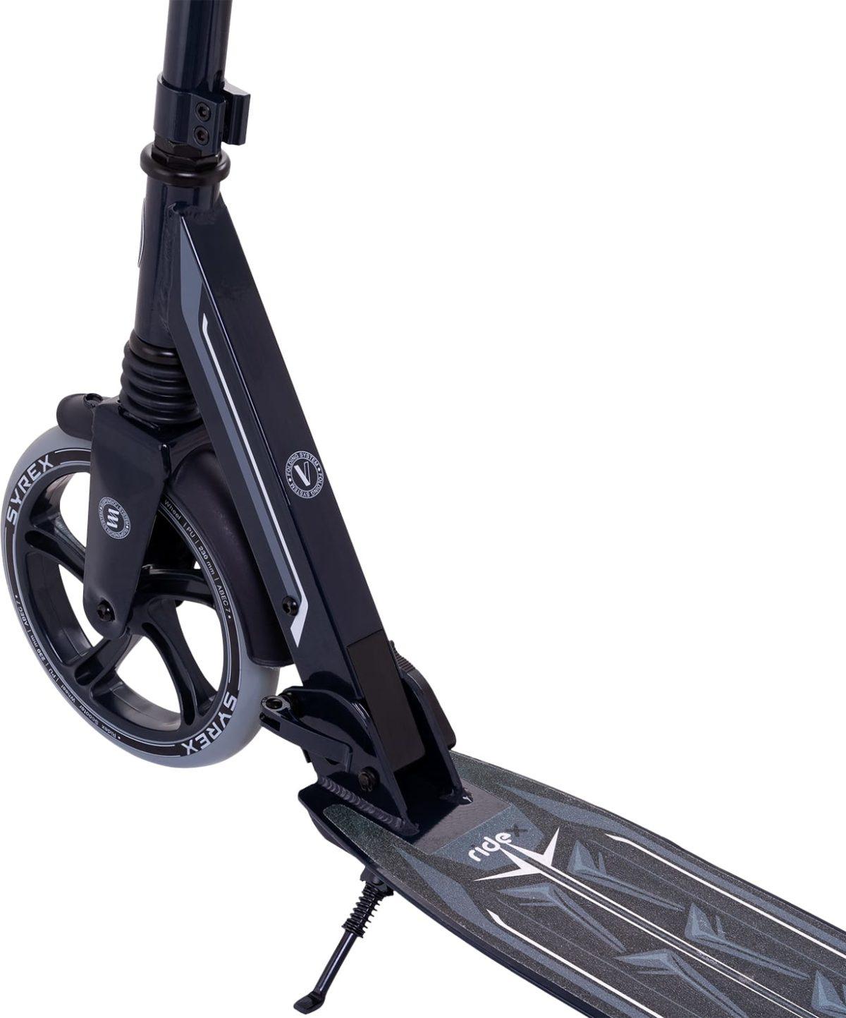 RIDEX Syrex Самокат 2-колесный  230/200 мм  Syrex: чёрный - 4