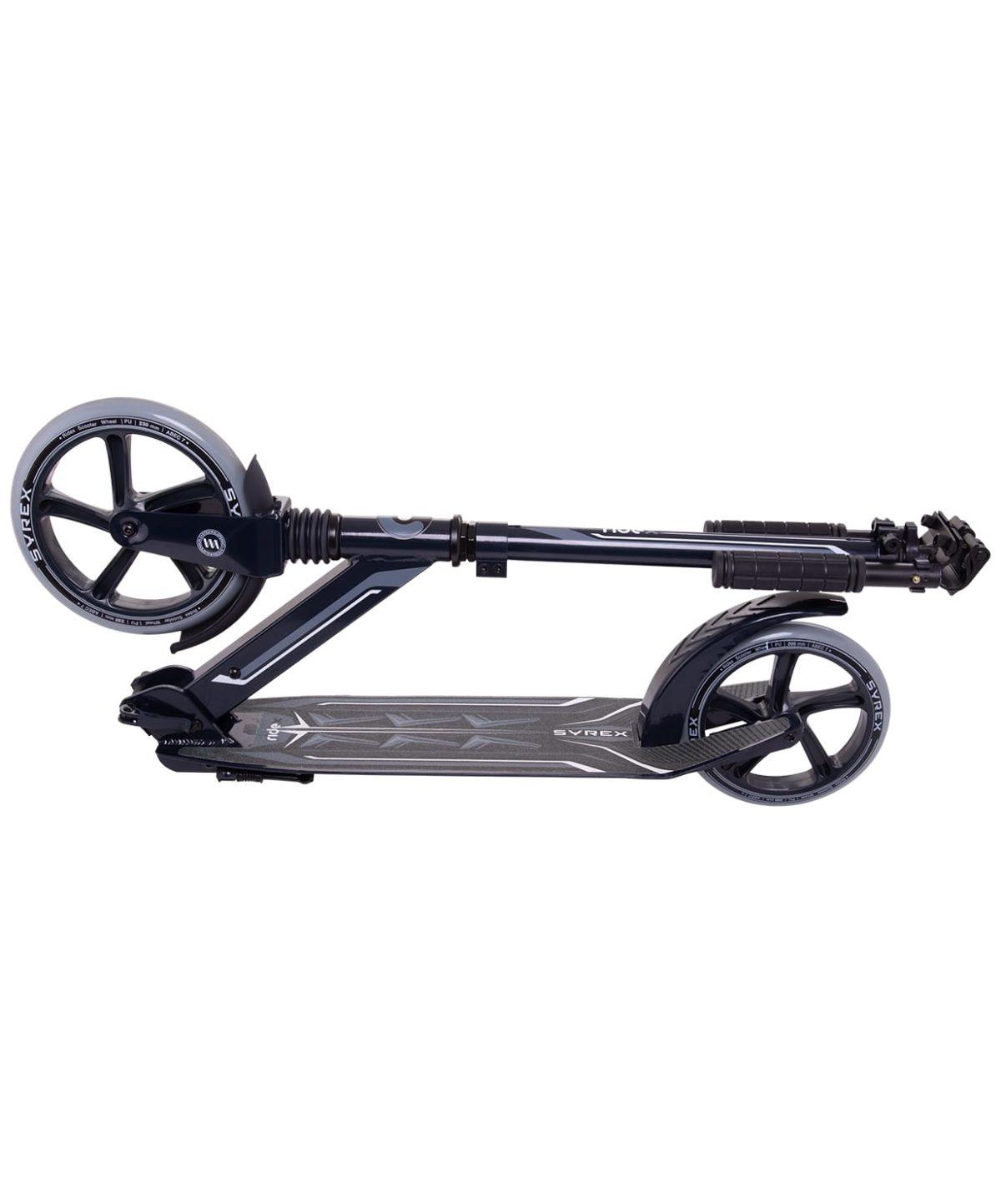 RIDEX Syrex Самокат 2-колесный  230/200 мм  Syrex: чёрный - 6