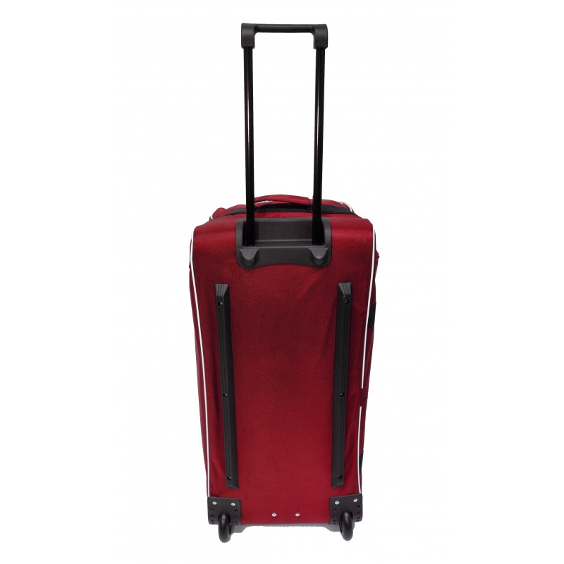 "STAILL Баул-сумка 28"" на колесах один карман  28-HK-1680: красный - 3"