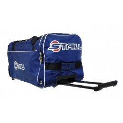 "STAILL Баул-сумка 28"" на колесах один карман  28-HK-1680: синий - 3"