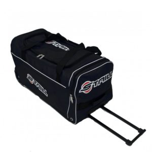 "STAILL Баул-сумка 28"" на колесах один карман  28-HK-1680: чёрный - 6"