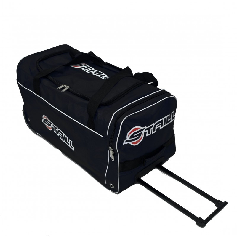 "STAILL Баул-сумка 28"" на колесах один карман  28-HK-1680: чёрный - 1"