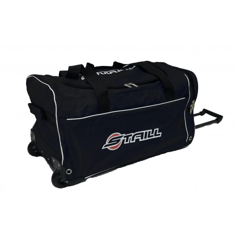 "STAILL Баул-сумка 28"" на колесах один карман  28-HK-1680: чёрный - 2"