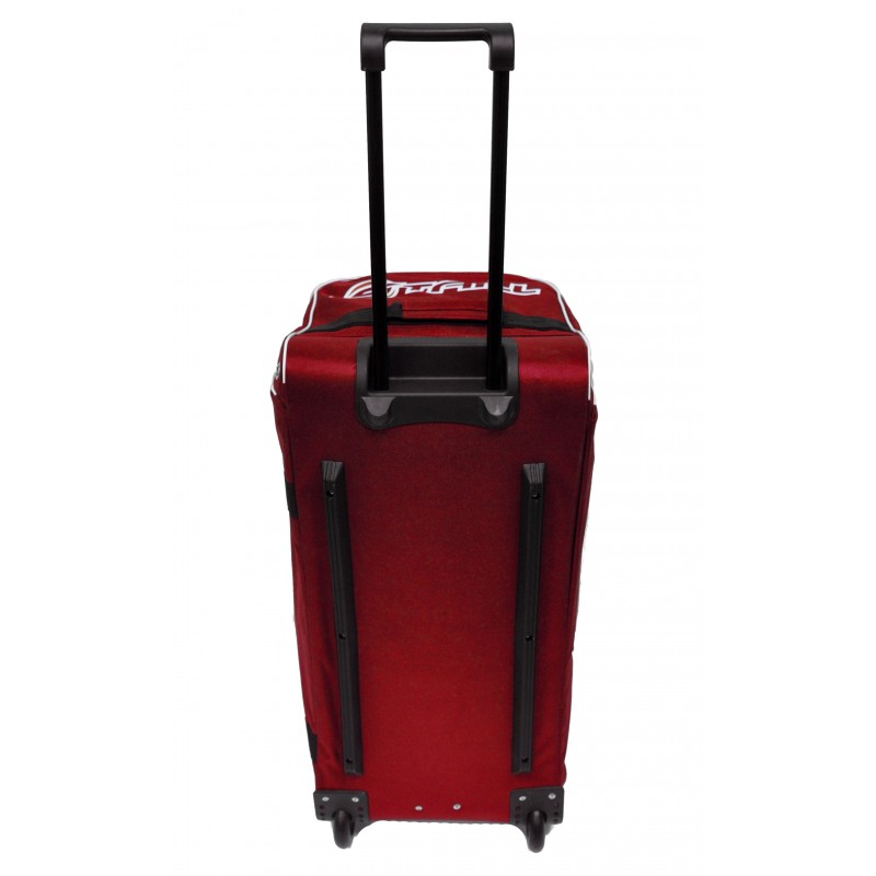 "STAILL Баул-сумка 28"" PRO на колесах два кармана  28-HK-1680: красный - 5"
