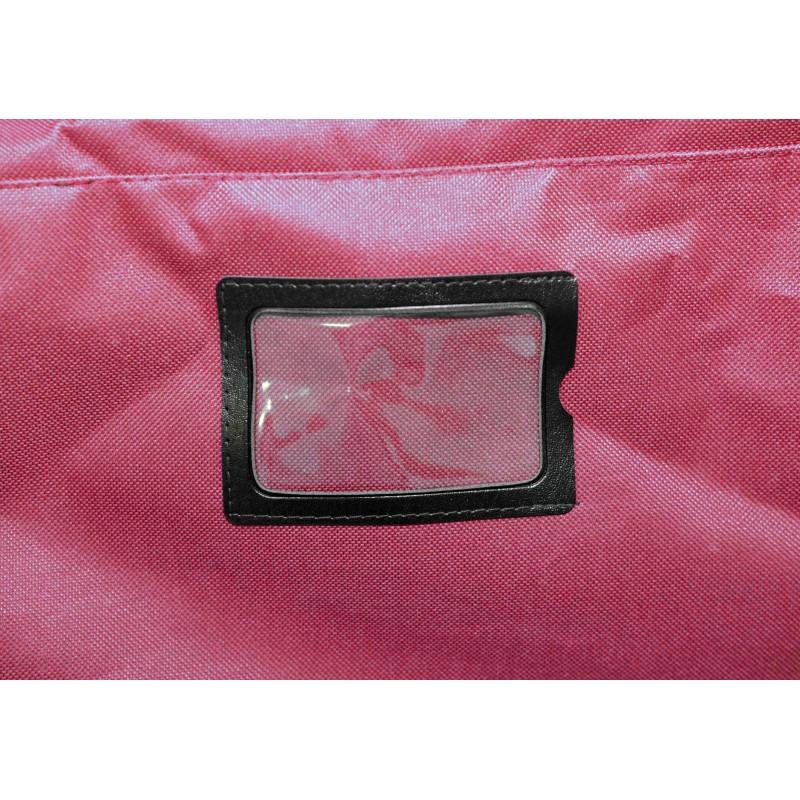 "STAILL Баул-сумка 28"" PRO на колесах два кармана  28-HK-1680: красный - 7"