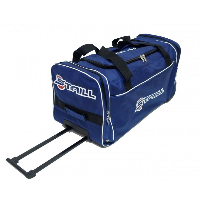"STAILL Баул-сумка 28"" PRO на колесах два кармана  28-HK-1680: синий - 1"