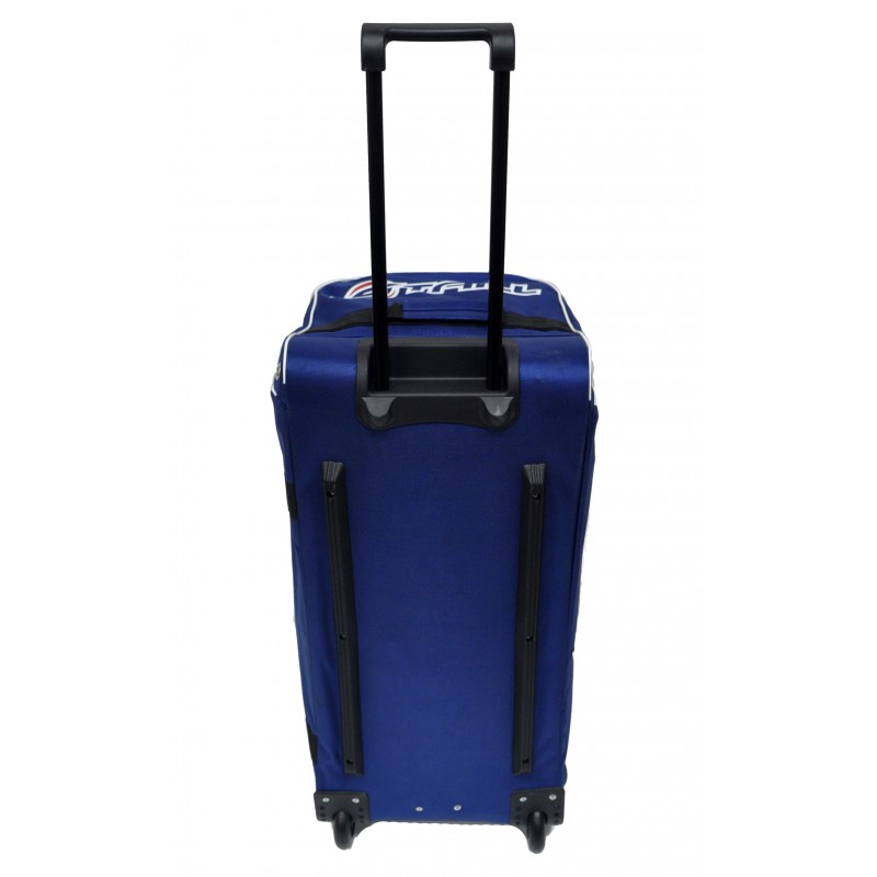 "STAILL Баул-сумка 28"" PRO на колесах два кармана  28-HK-1680: синий - 5"