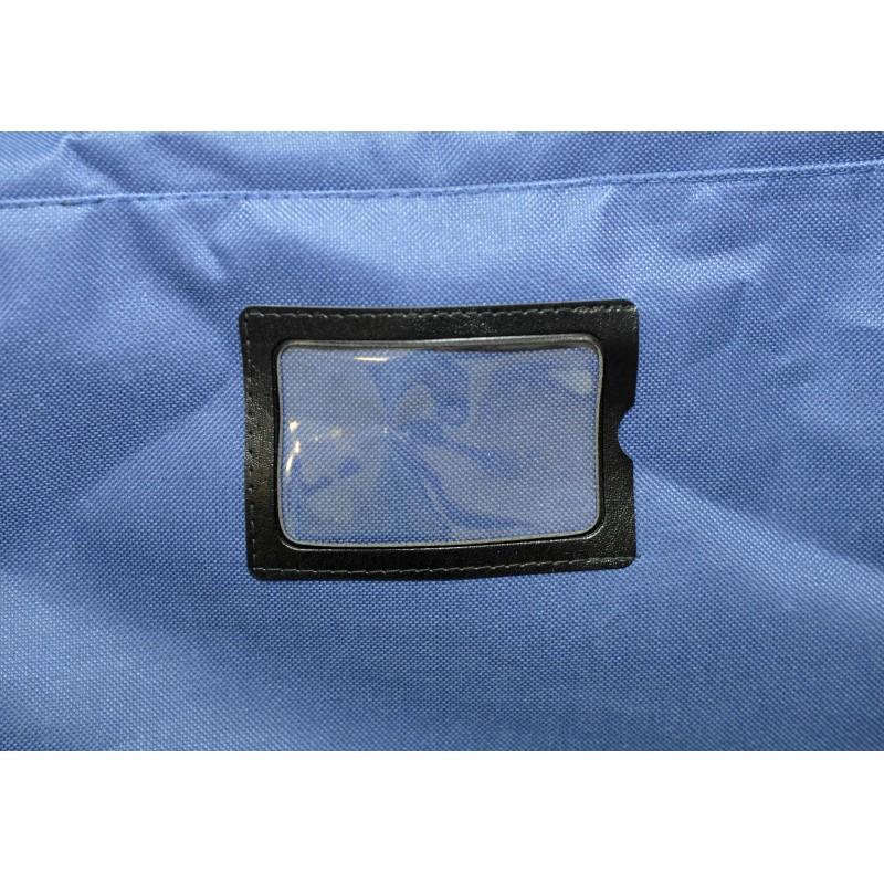 "STAILL Баул-сумка 28"" PRO на колесах два кармана  28-HK-1680: синий - 7"