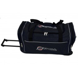 "STAILL Баул-сумка 28"" PRO на колесах два кармана  28-HK-1680: чёрный - 8"