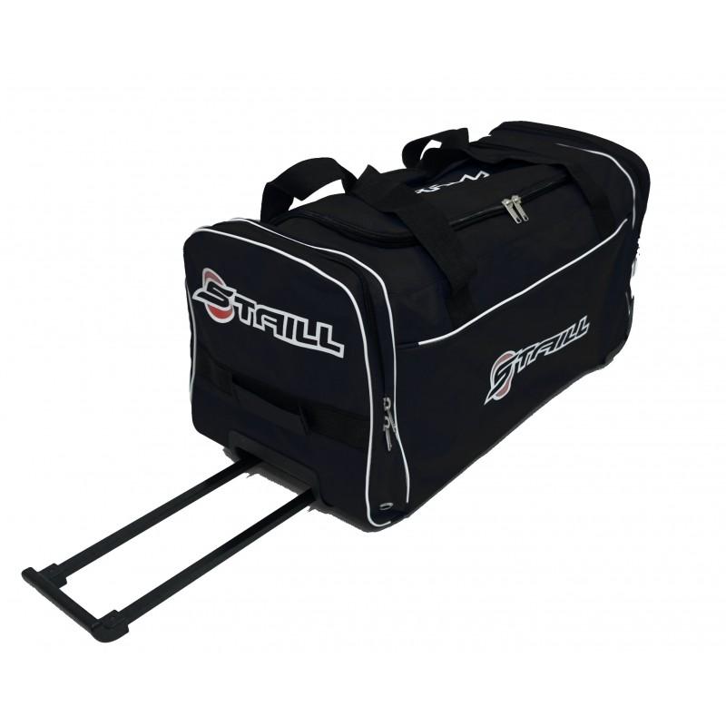 "STAILL Баул-сумка 28"" PRO на колесах два кармана  28-HK-1680: чёрный - 2"