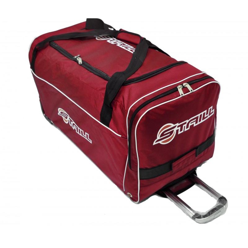 "STAILL Баул-сумка 34"" на колесах один карман  34-HK-1680: красный - 2"