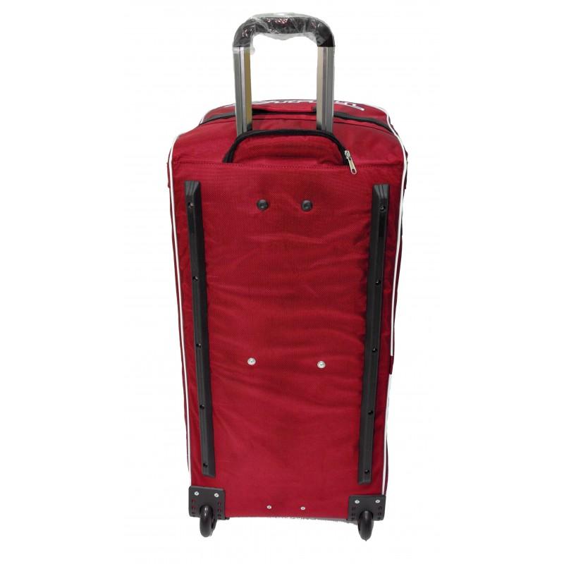 "STAILL Баул-сумка 34"" на колесах один карман  34-HK-1680: красный - 3"