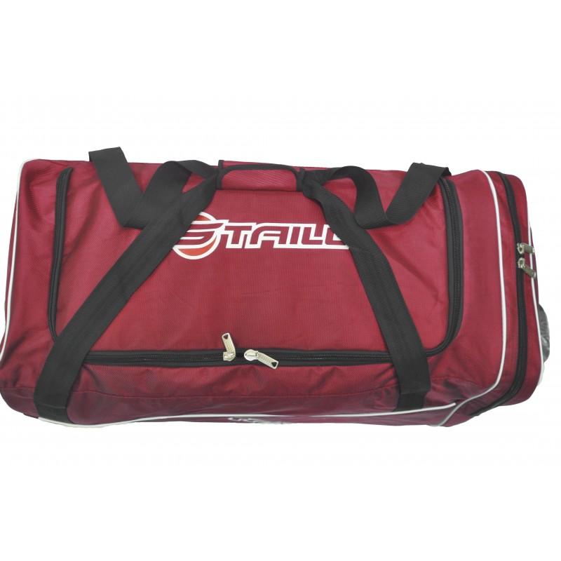 "STAILL Баул-сумка 34"" на колесах один карман  34-HK-1680: красный - 4"