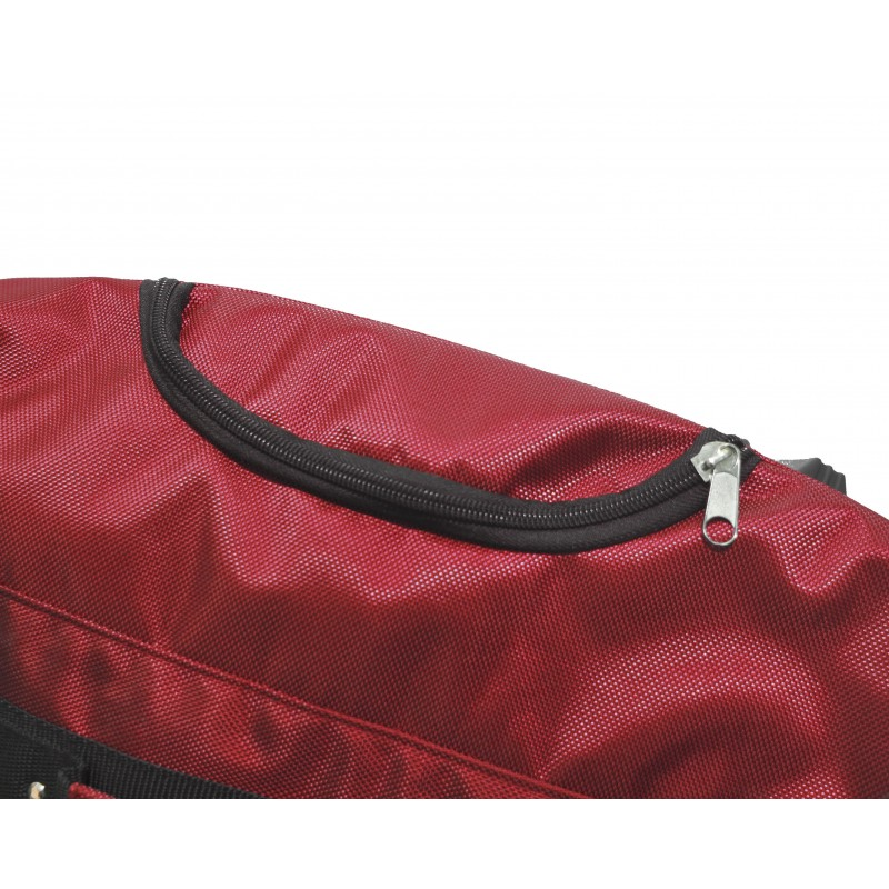 "STAILL Баул-сумка 34"" на колесах один карман  34-HK-1680: красный - 5"