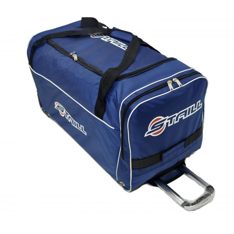 "STAILL Баул-сумка 34"" на колесах один карман  34-HK-1680: синий - 1"