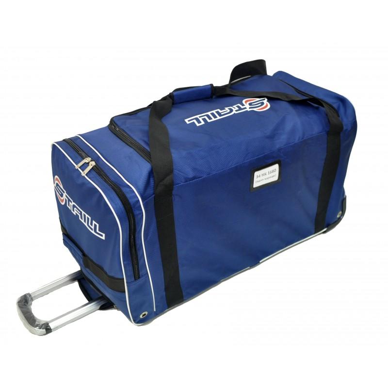 "STAILL Баул-сумка 34"" на колесах один карман  34-HK-1680: синий - 2"