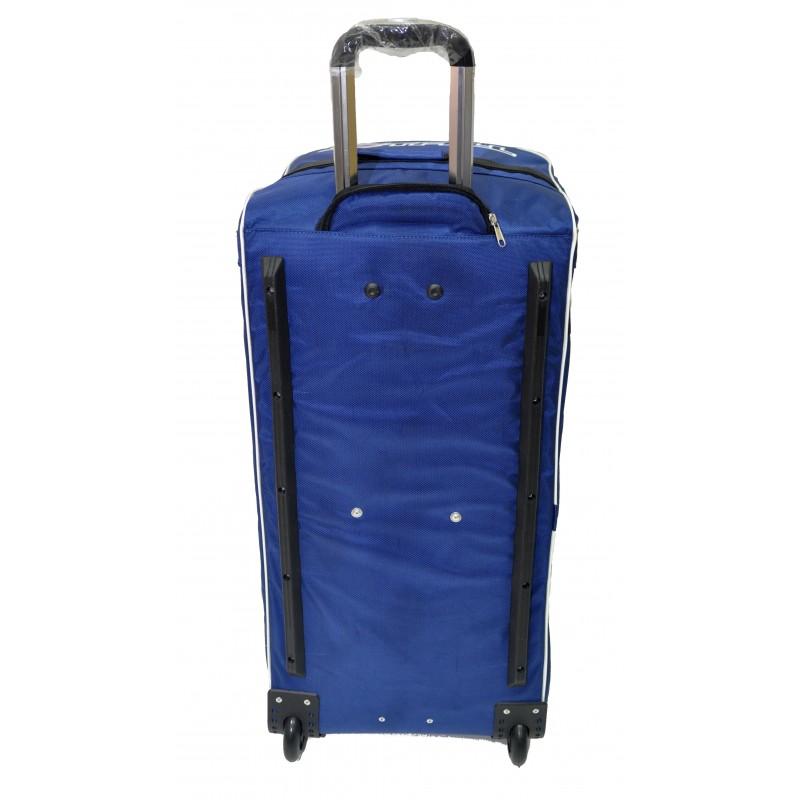 "STAILL Баул-сумка 34"" на колесах один карман  34-HK-1680: синий - 3"