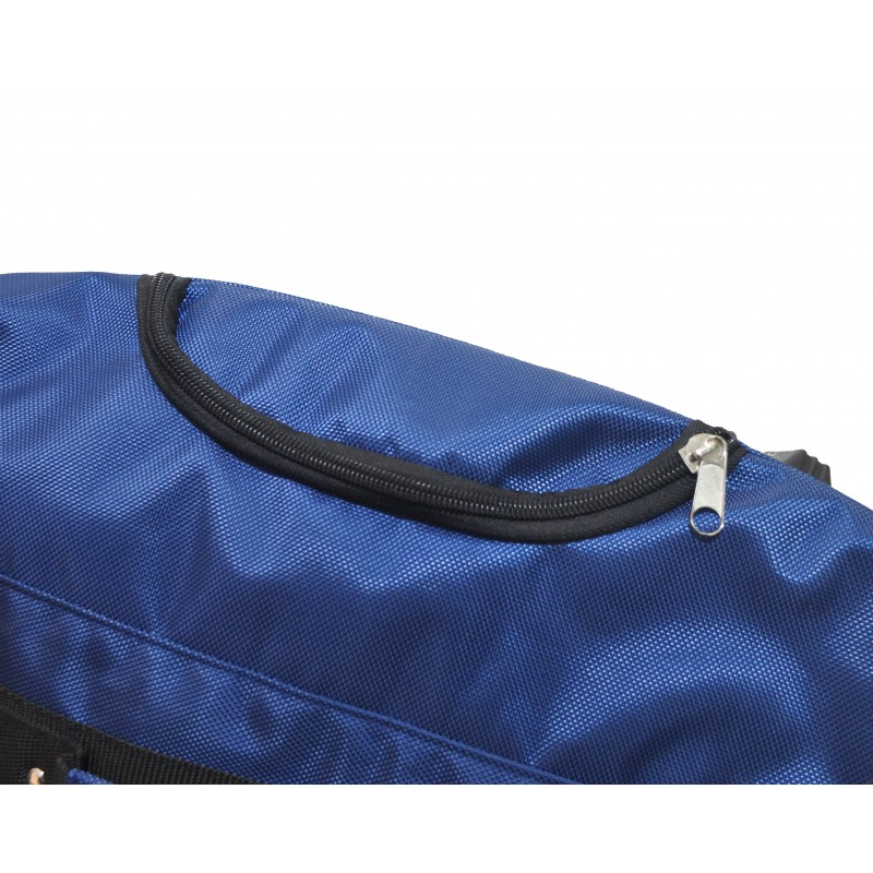 "STAILL Баул-сумка 34"" на колесах один карман  34-HK-1680: синий - 4"