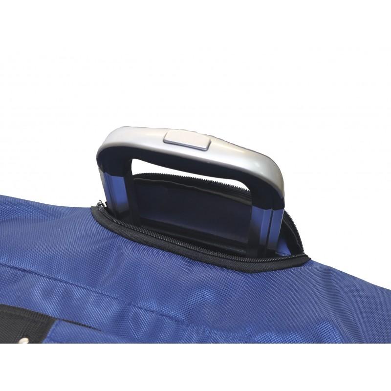 "STAILL Баул-сумка 34"" на колесах один карман  34-HK-1680: синий - 5"