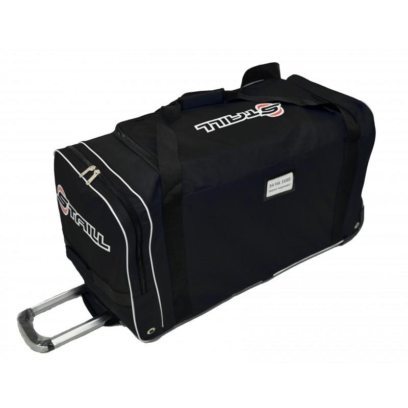 "STAILL Баул-сумка 34"" на колесах один карман  34-HK-1680: чёрный - 2"